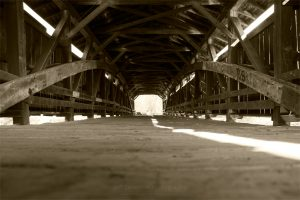 Inside Perrine's Bridge