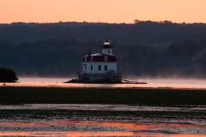 August Dawn at Esopus Light