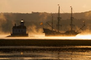 Departure of El Galeon II