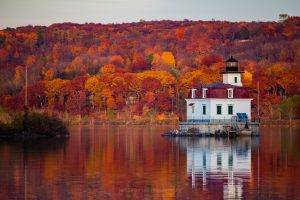 Esopus Lighthouse in Late Fall (Re-edit)