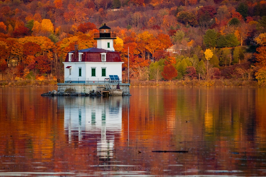 Esopus Lighthouse in Late Fall #2 (Re-edit)