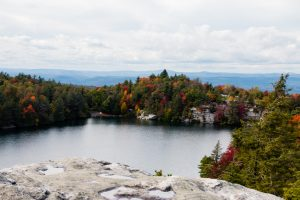 October Afternoon at Lake Minnewaska