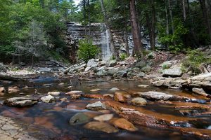 Awosting Falls in July IV