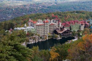 Mohonk Mountain House in October