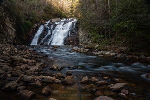 Laurel Falls in Autumn #1