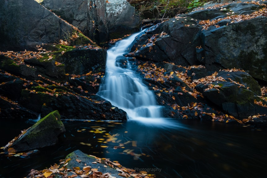 The Falls of Black Creek in Autumn II