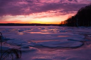 January Dawn at Esopus Meadows I