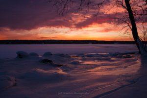 January Dawn at Lighthouse Park