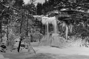 January Morning at Awosting Falls II
