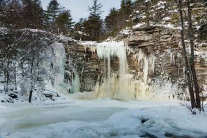 January Morning at Awosting Falls