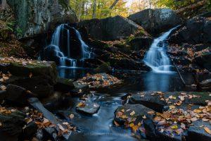 The Falls of Black Creek in Autumn III