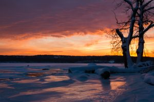 January Dawn at Esopus Meadows II