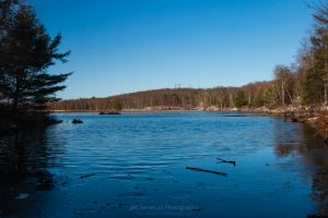 Blue Sunday at Louisa Pond