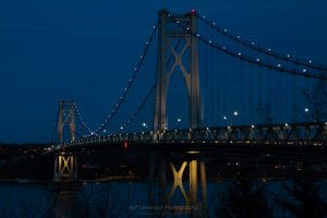 March Evening at the Mid-Hudson Bridge