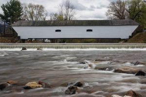 Covered Bridge in March