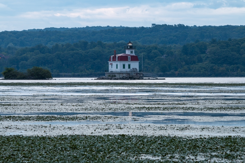 August Dawn at Esopus Lighthouse