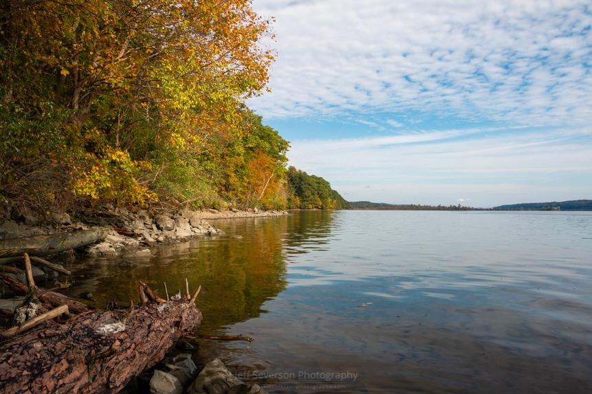 Autumn Morning Along the Hudson