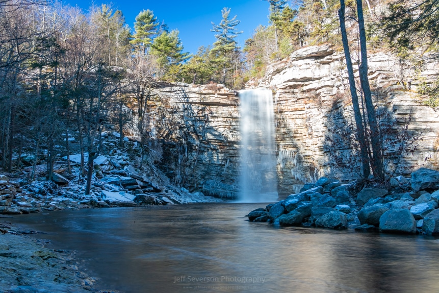 December Morning at Awosting Falls (2018)