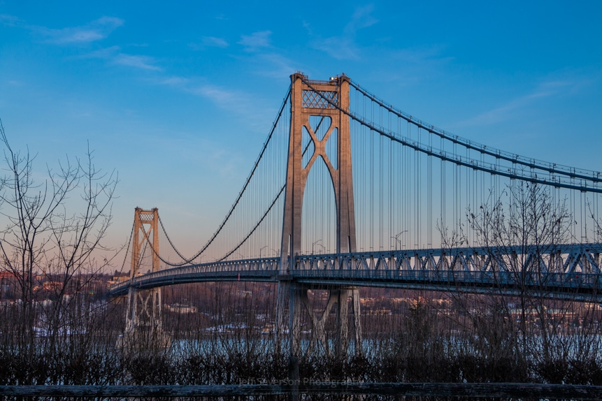 Golden Hour at Mid-Hudson Bridge