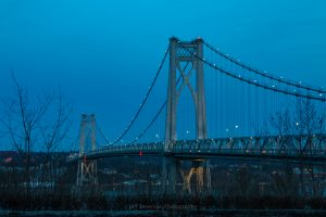 March Evening at Mid-Hudson Bridge 2019