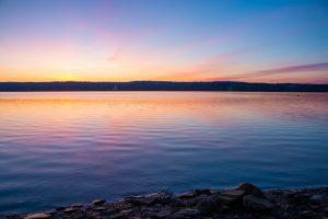 April Dawn on the Hudson River I