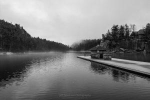Foggy Morning at Lake Mohonk