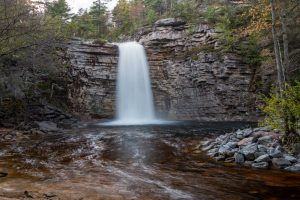 May Evening at Awosting Falls I