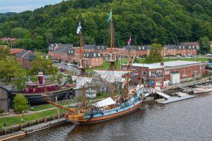 Kalmar Nyckel at Port 2019