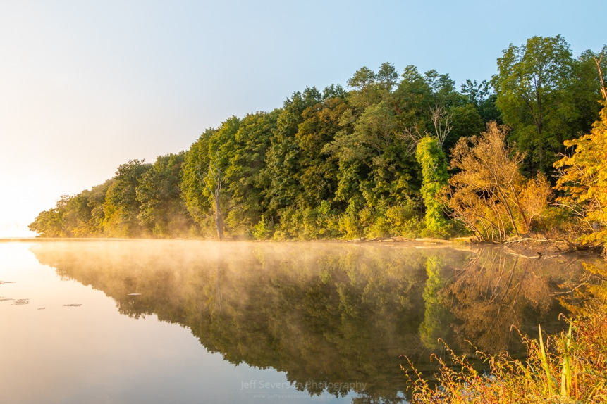 September Golden Hour at Esopus Meadows