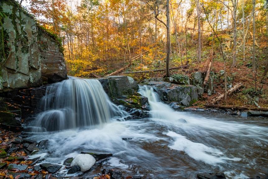 Falls of Black Creek in October