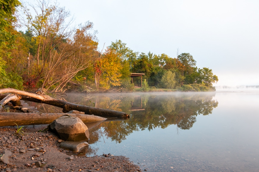 Foggy Morning at Esopus Meadows