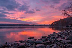 November Dawn on the Hudson