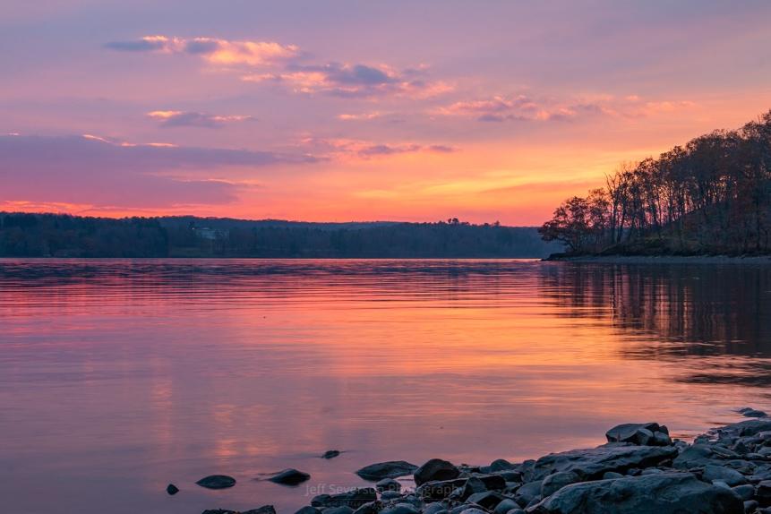 November Dawn on the Hudson II