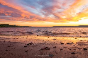 A photo of Kingston Point Beach during Sunrise.